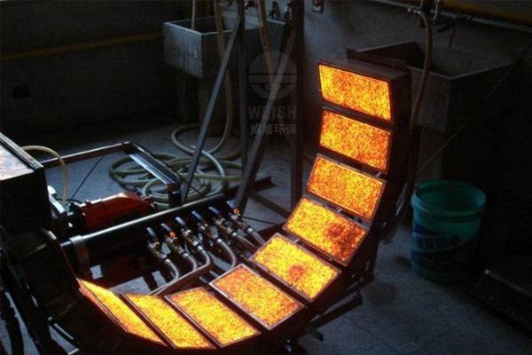 WEISH metal fiber infrared heating