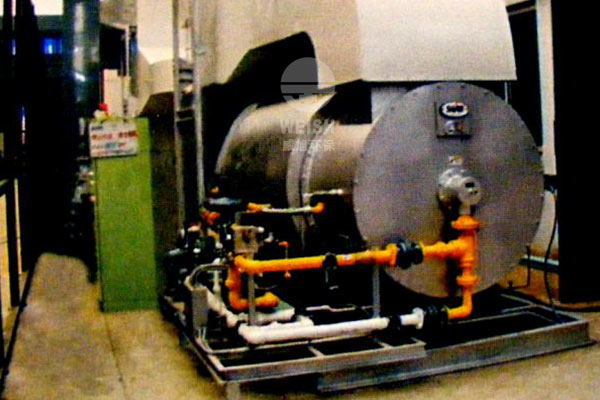 Waste gas treatment deodorization furnace
