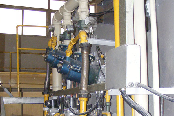 High temperature furnace combustion system