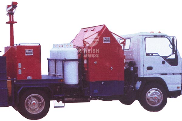Gas infrared hot asphalt pavement thermal regeneration heating system