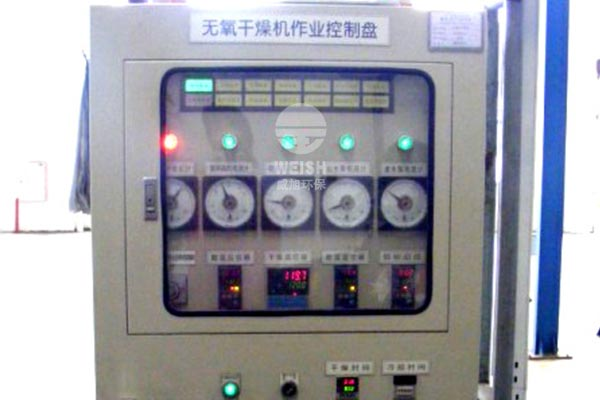 Oxygen-free drying electric control operation control