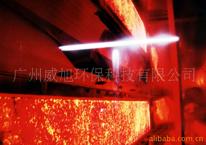 Ceramic fiber infrared burner